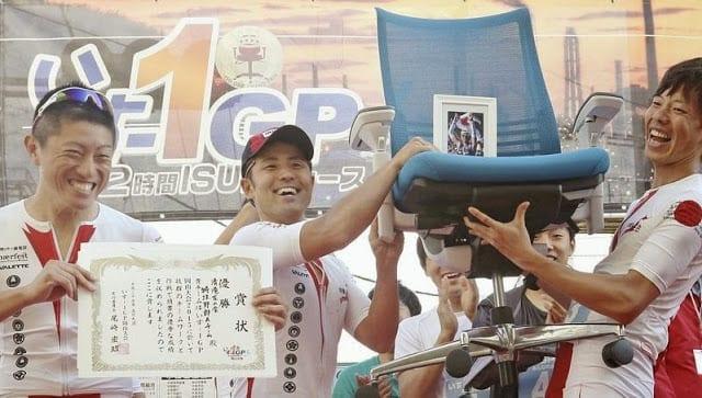 pemenang lomba balap kursi kantor